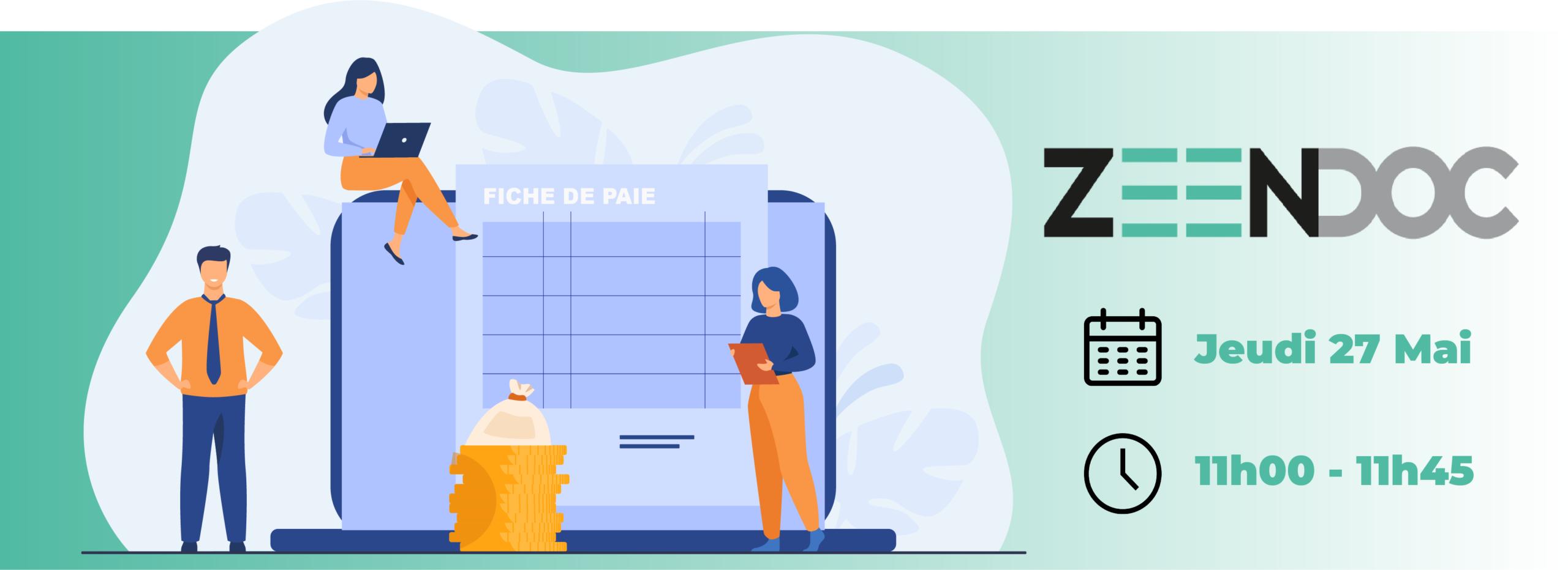Bulletin de paie électronique SOLUDOC