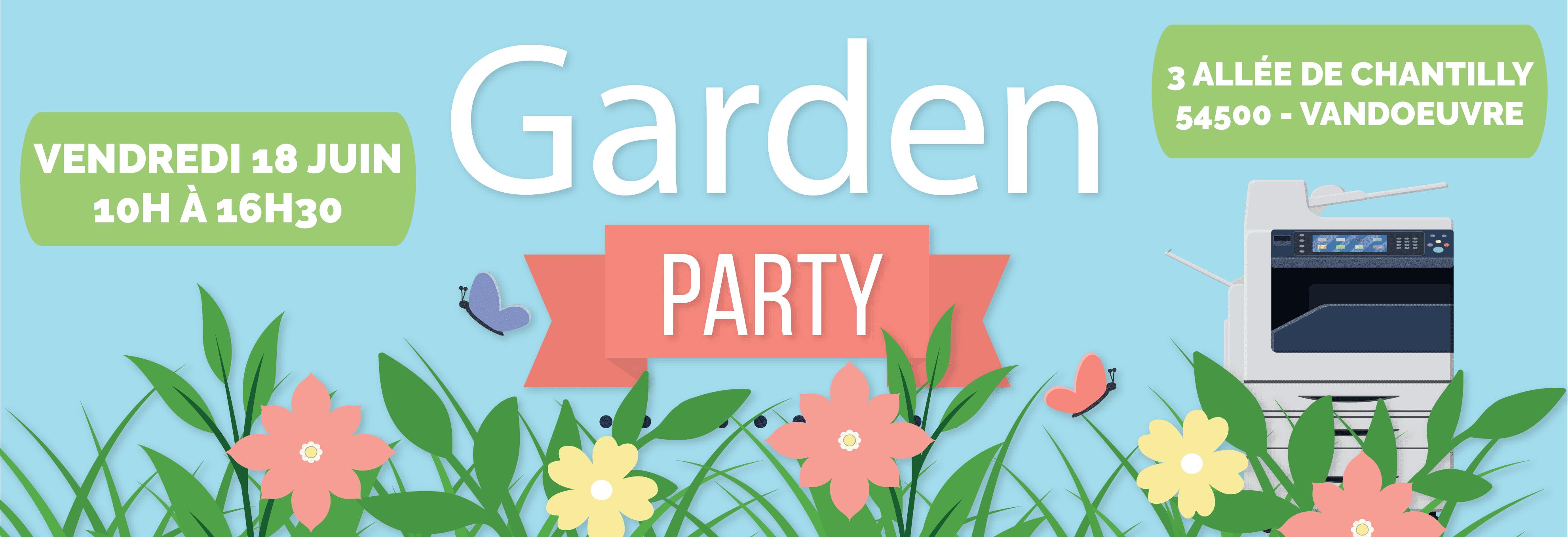 Barbecue Garden Party 18 Juin SOLUDOC